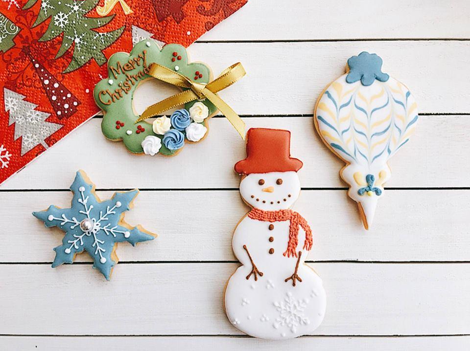 ワークショップ【アイシングクッキーで作るクリスマスモチーフ】