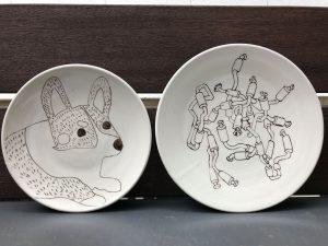 期間限定ワークショップのお知らせ【陶器のお皿に絵を描く】