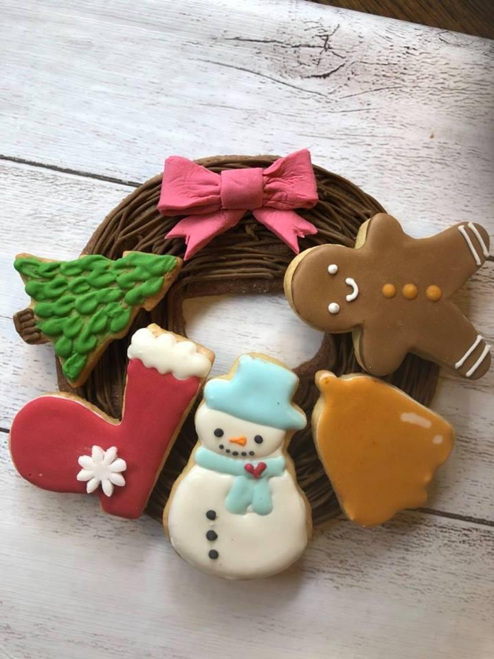 ワークショップ【アイシングクッキーでクリスマスリースをつくろう】