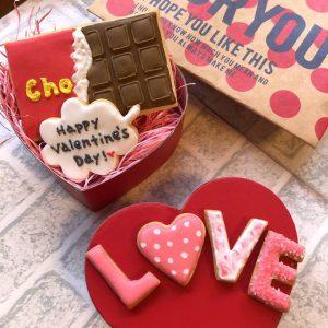 ワークショップ【No.1でonly oneのあなたにあげたいバレンタインアイシングクッキー】