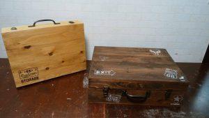 <diy教室開催>【木製トランクケース全2回講座】