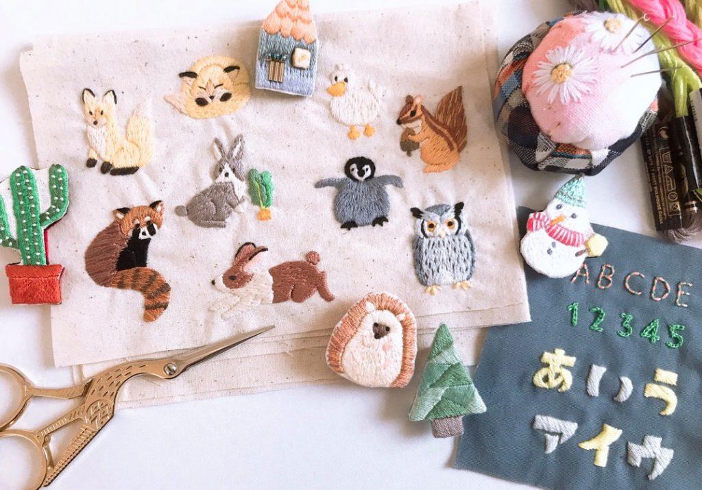 ルーペのチクチク手刺繍の会<12月>