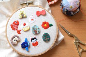 ルーペさんのチクチク手刺繍の会<1月>